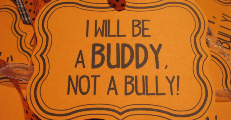 Be a Buddy, Not a Bully!