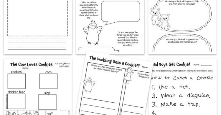 Free Cookie Reading Comprehension Activities Perfect for Back to School