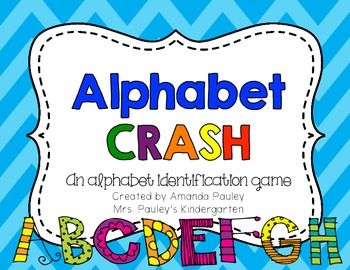 Alphabet Crash game from Amanda Pauley