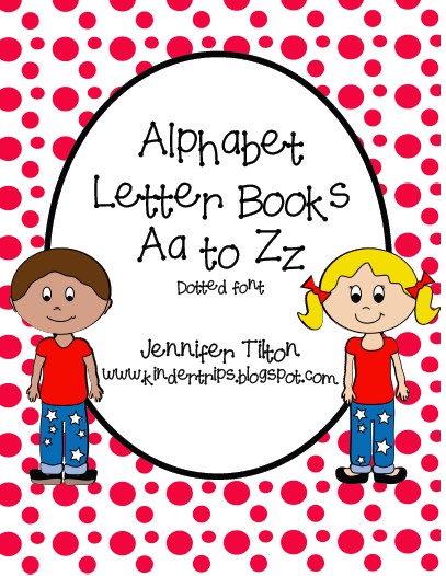 Alphabet Letter Books from Kinder Trips