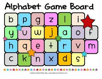 Free Alphabet Game from Elementary Lesson Plans
