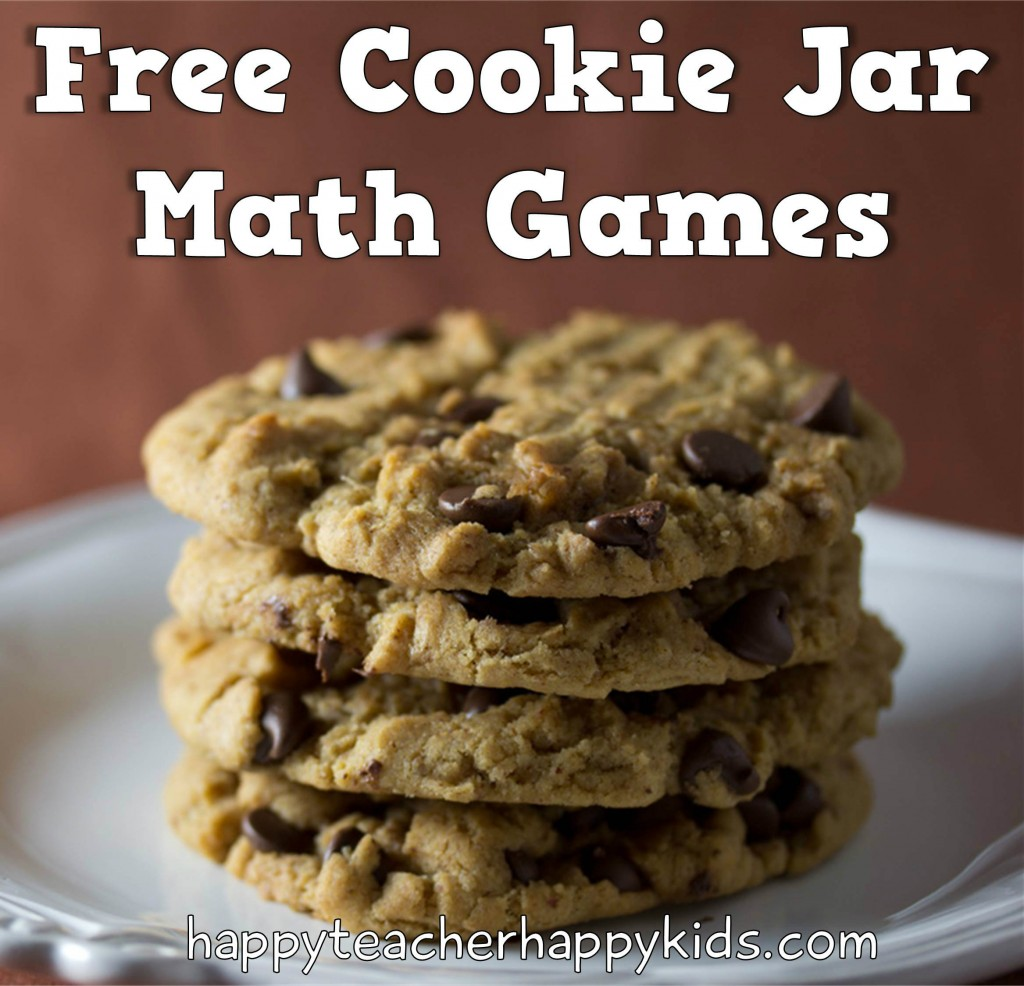 Free Cookie Jar Math Games pretty header image cropped version