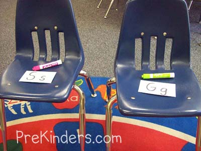 Musical Letters from PreKinders