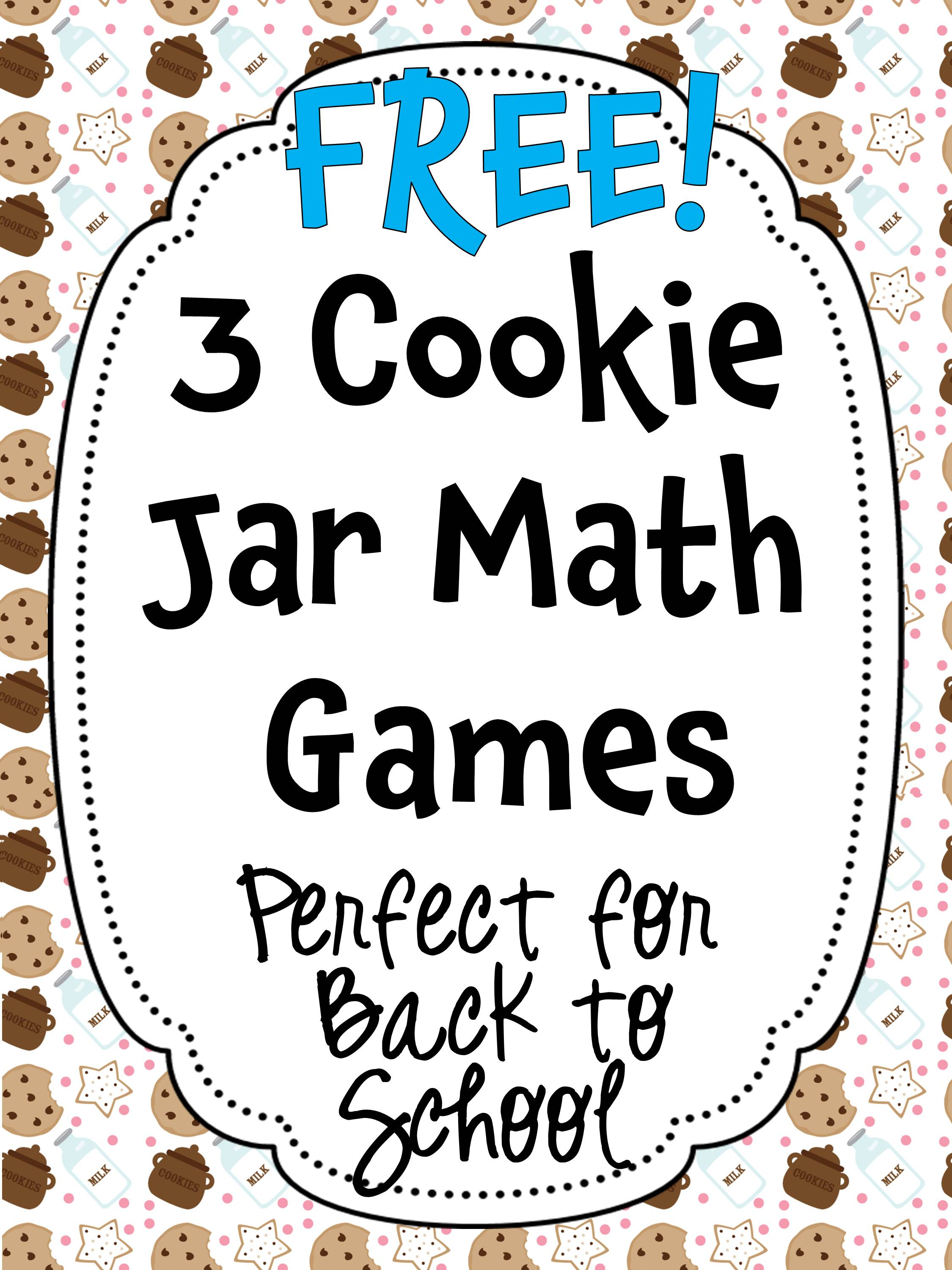 Worksheet First Grade Math Activities free cookie jar math for kindergarten and first grade happy here are some more fun activities back to school be sure check out my reading comprehension activitie