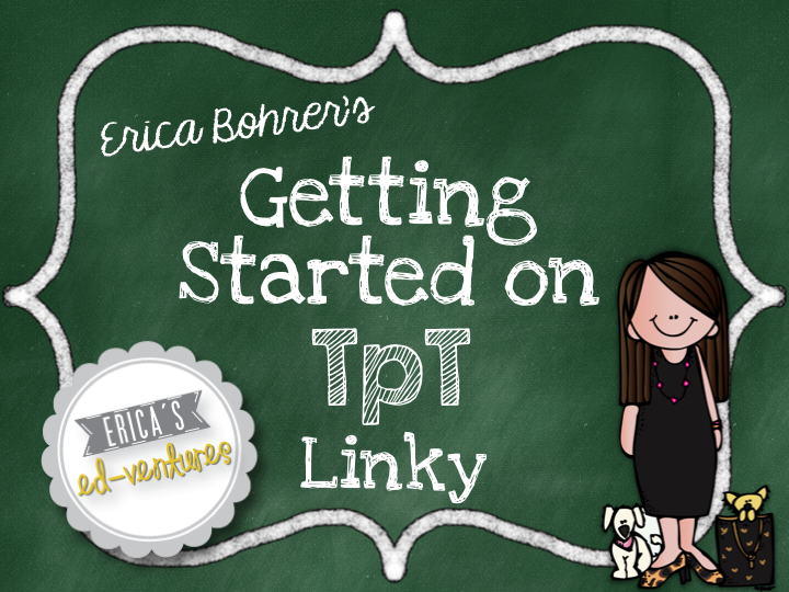 Erica Bohrer's Getting Started on TPT Button