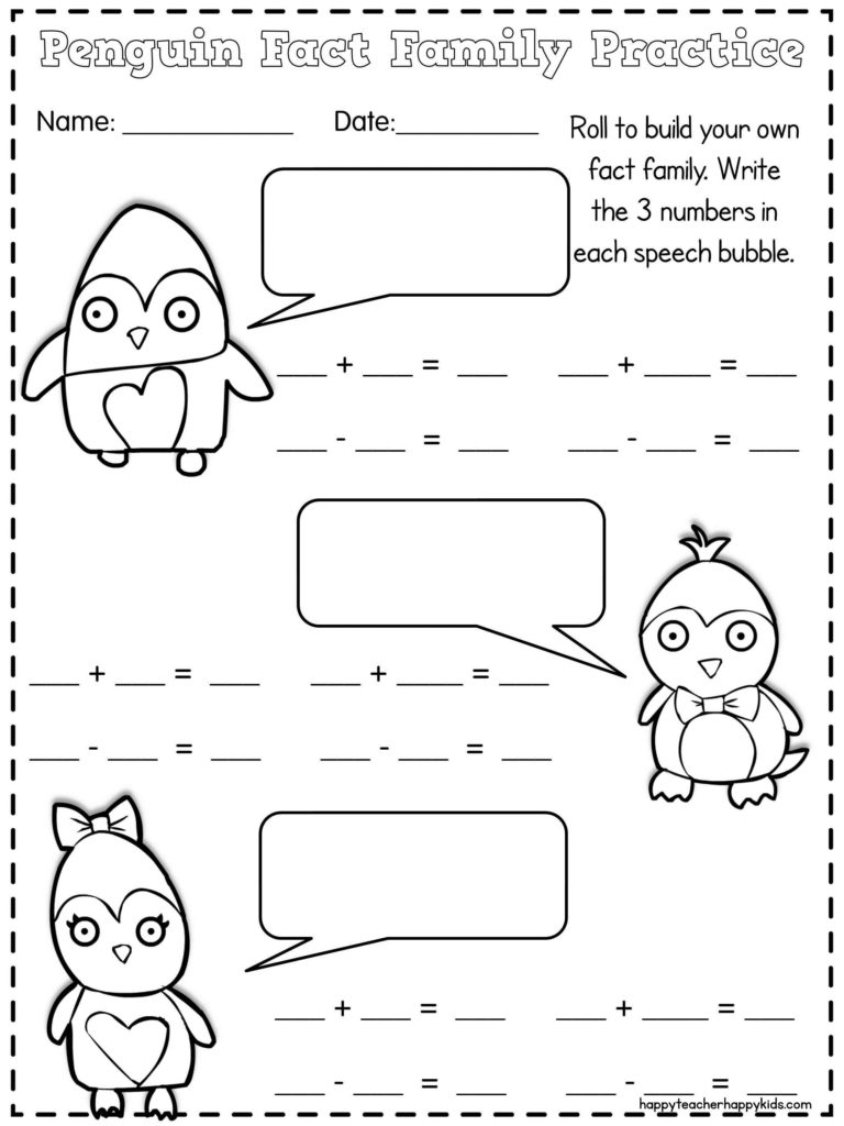 ... worksheet 14 one page worksheetspenguin craft practicing in fun