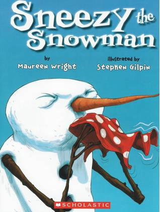 Sneezy the Snowman book cover