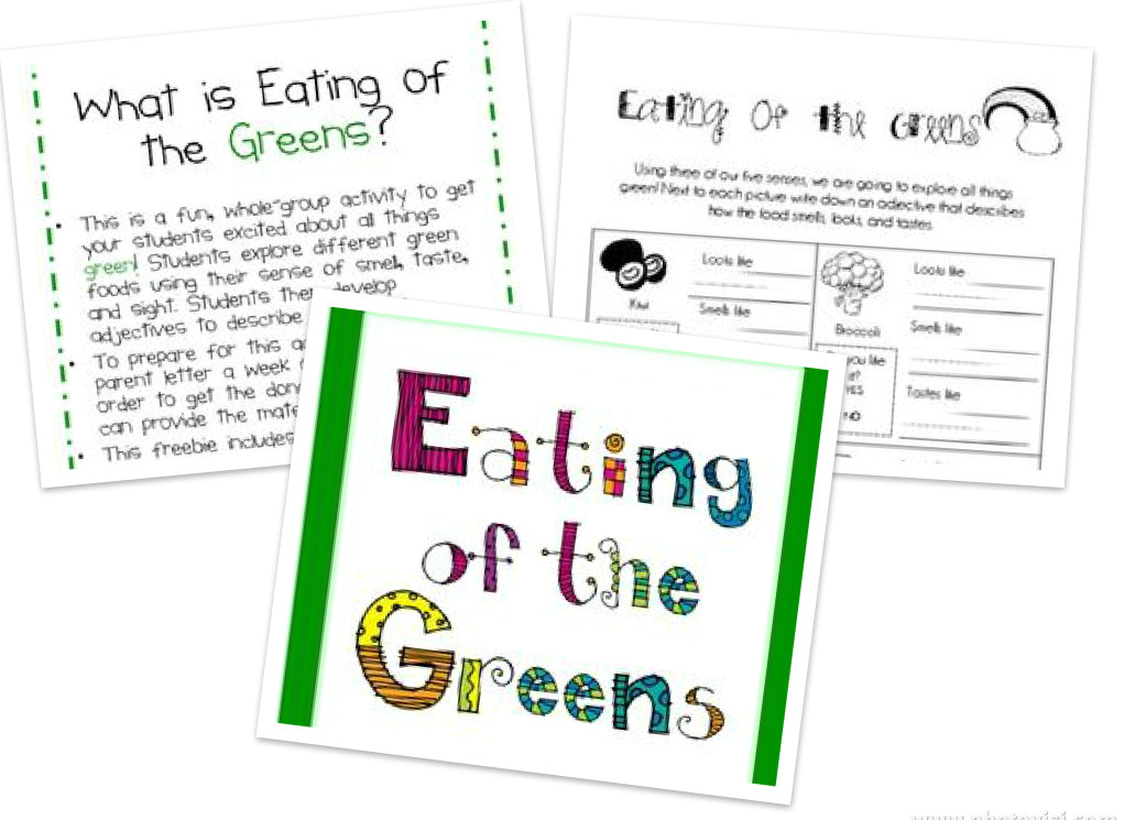 eating of the greens collage fixed