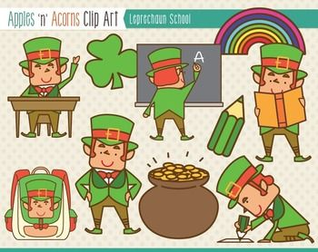 leprechaun apples n acorns