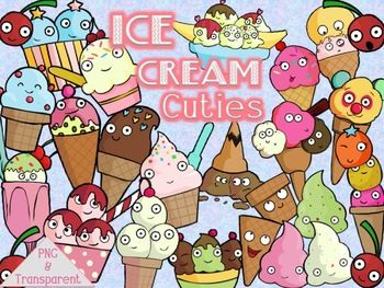 our monitos ice cream cuties