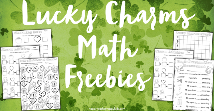 Free Lucky Charms Math & More!