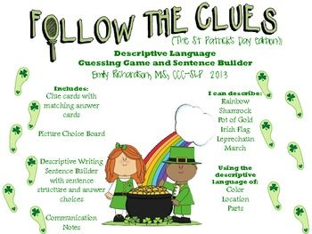 follow the clues st patrick's day
