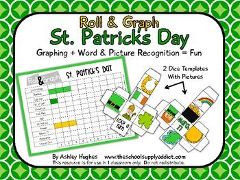 roll and graph st patrick's day