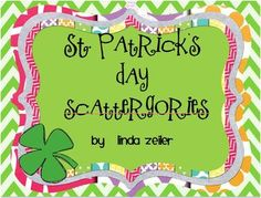 st patrick's day scattagories