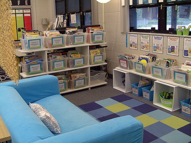 Classroom Library Ideas ~ Amazing classroom organization tips tricks happy