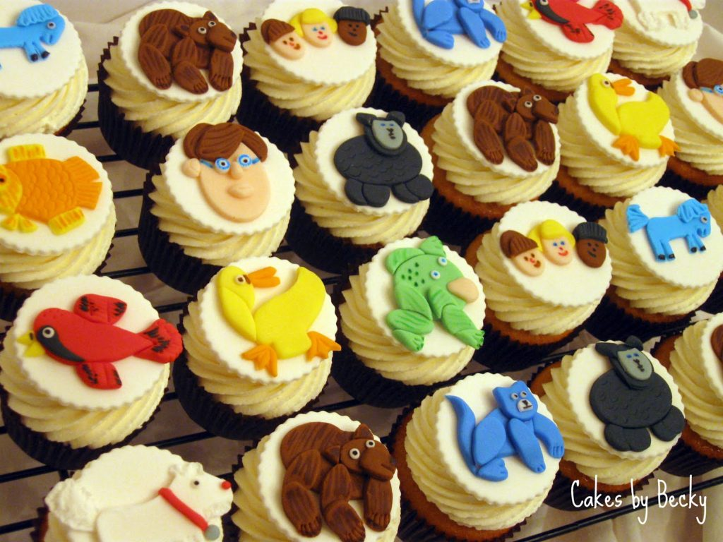 Brown Bear, Brown Bear Cupcakes by Becky