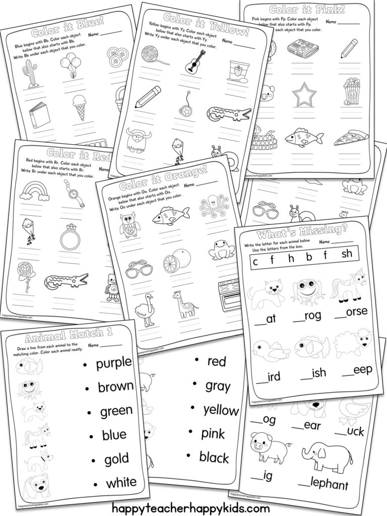 Brown Bear Language Arts Printables