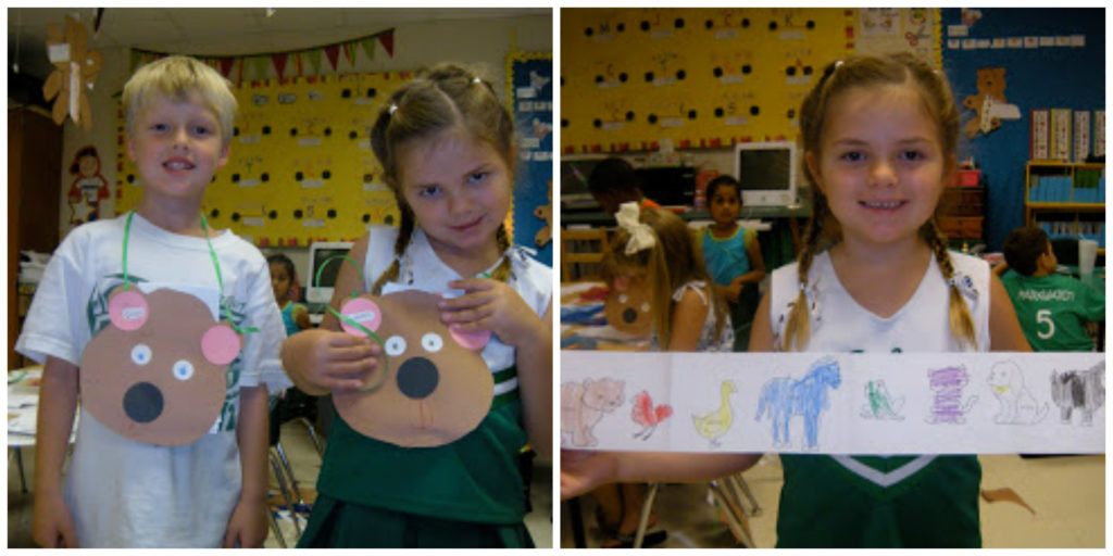 Brown Bear Sequencing Craft from Peace, Love, and Kinder