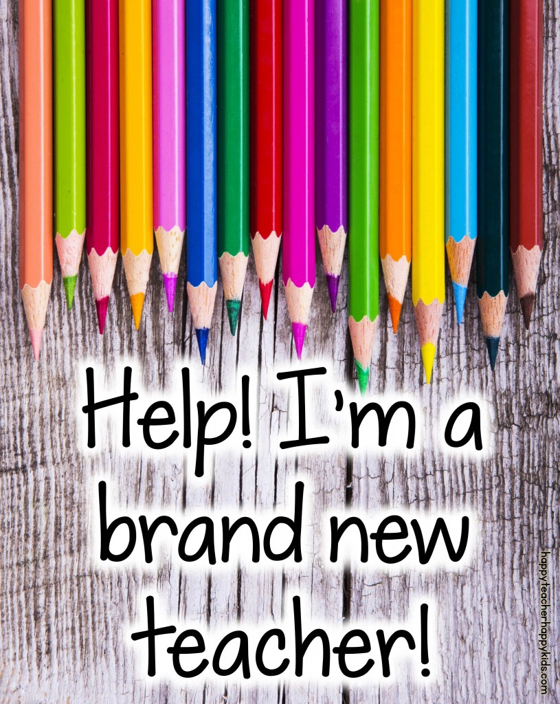 Help! I'm a Brand New Teacher Blog Header