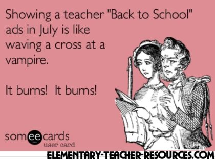 Teachers in Summer