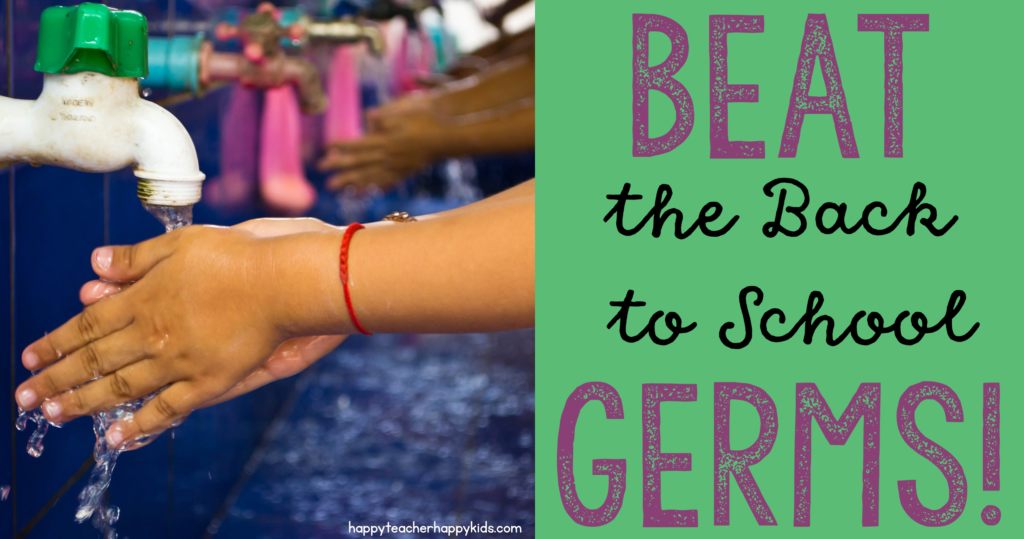 Beat the Back to School Germs FB Blog Header