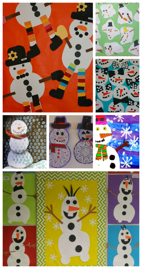 Snowman Art Ideas