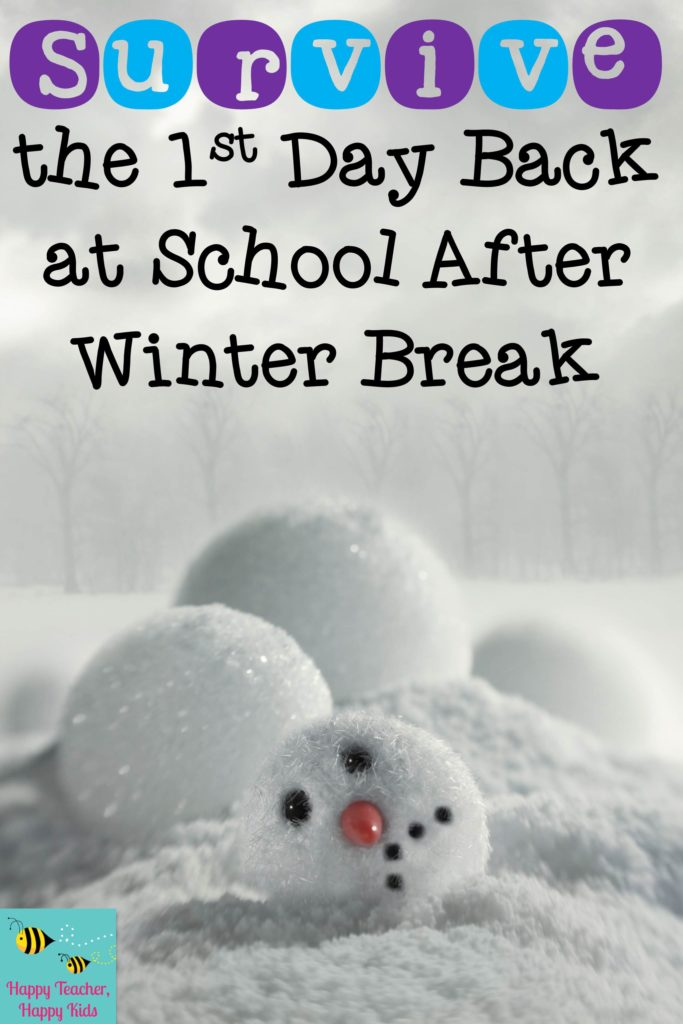 Survive the First Day Back at School After Winter Break Cover Image