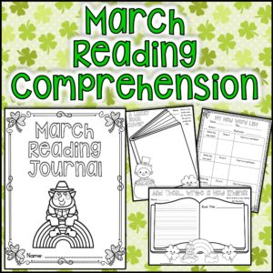 2015 March Reading Comprehension Activities Square Cover