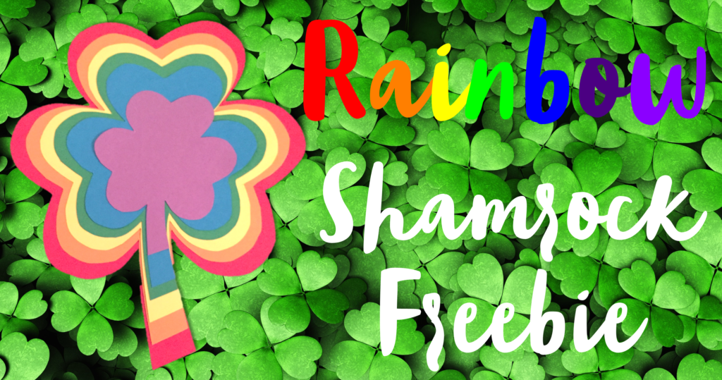Rainbow Shamrock Craft FB Blog Header