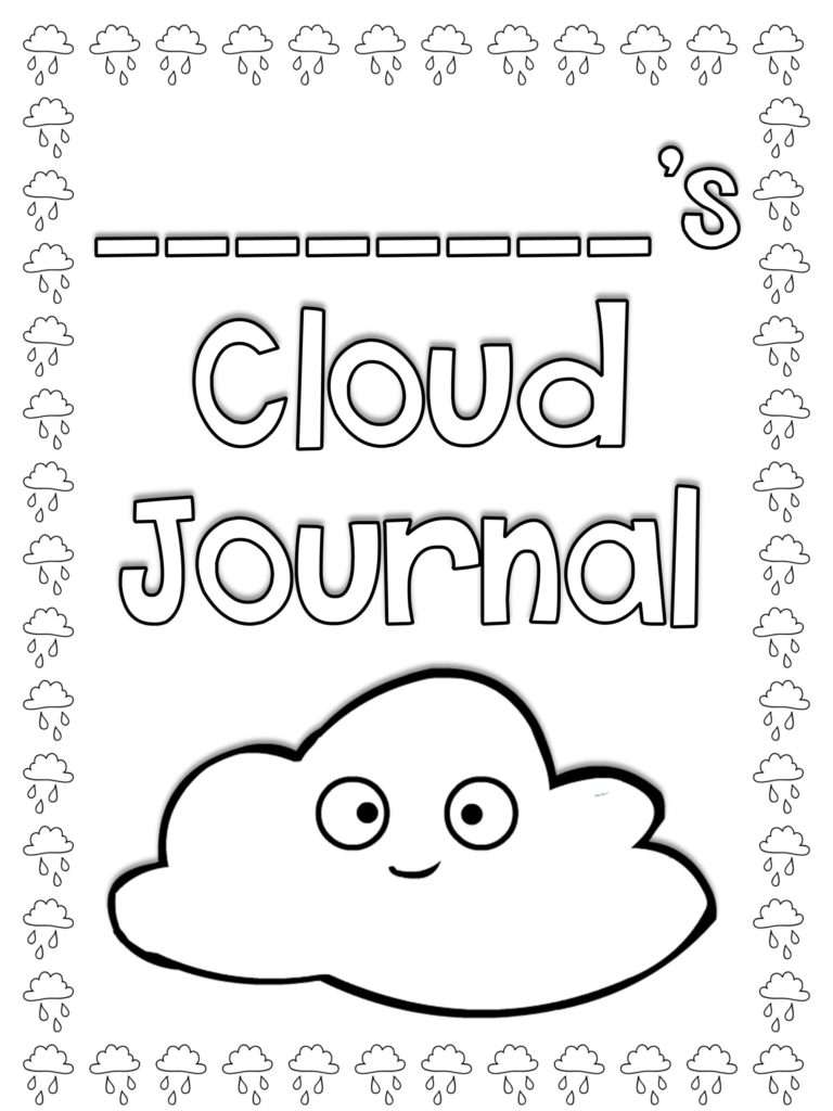 Cloud Journal Cover