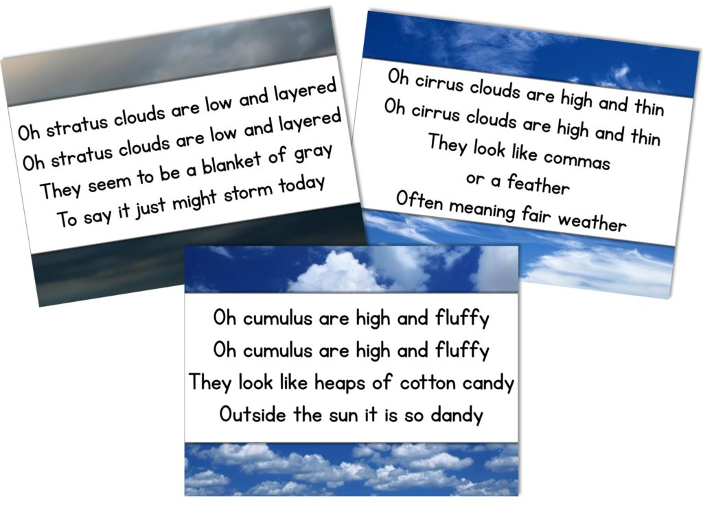Cloud Song Collage Corrected Spelling