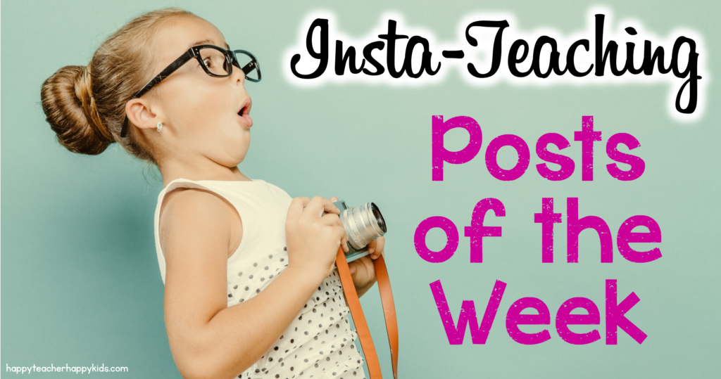 Insta Teaching Posts of the Week FB Blog Header