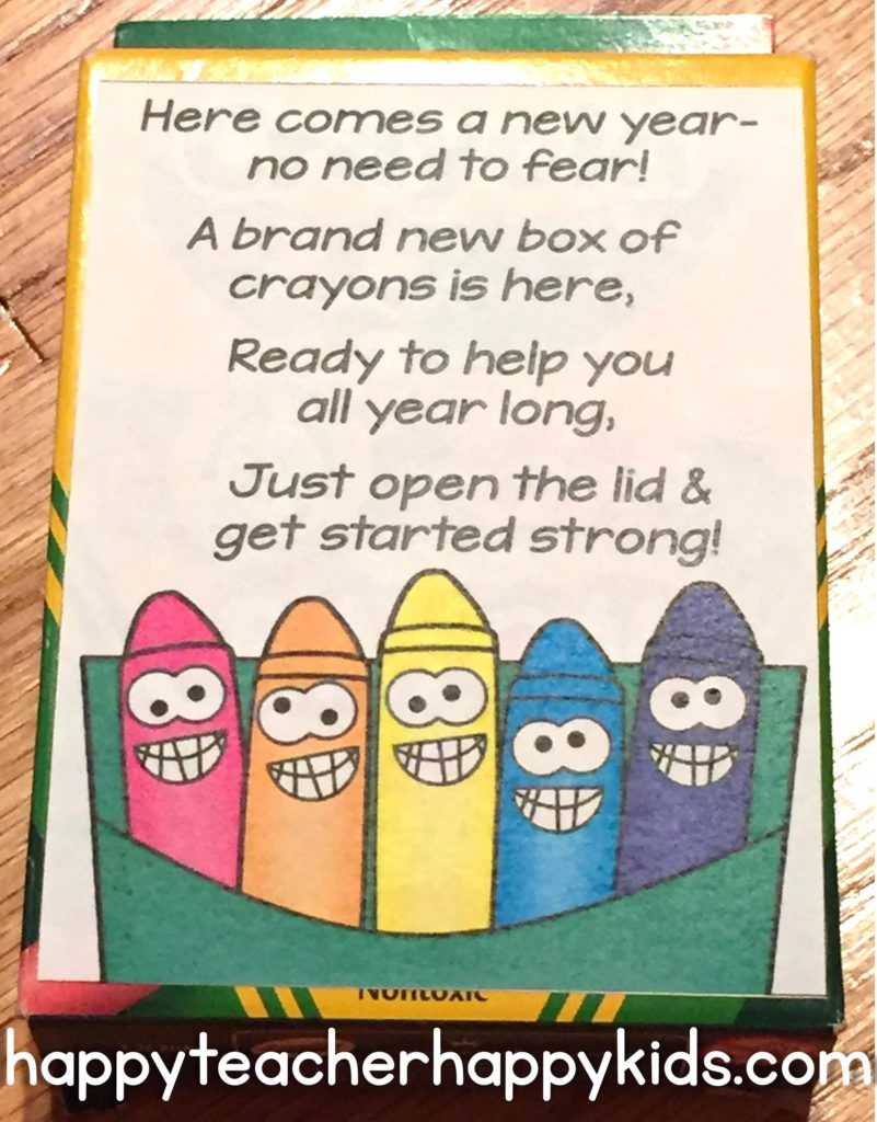 A New Year's Box of Crayon Pinterest Image