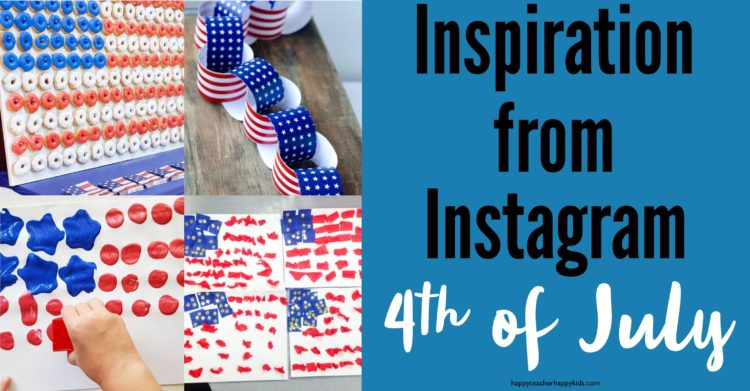 4th of July Instagram Inspiration Collage FB