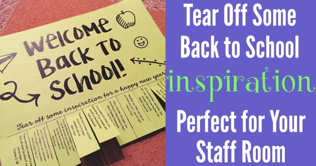 Back to School Tear Off FB Header Image