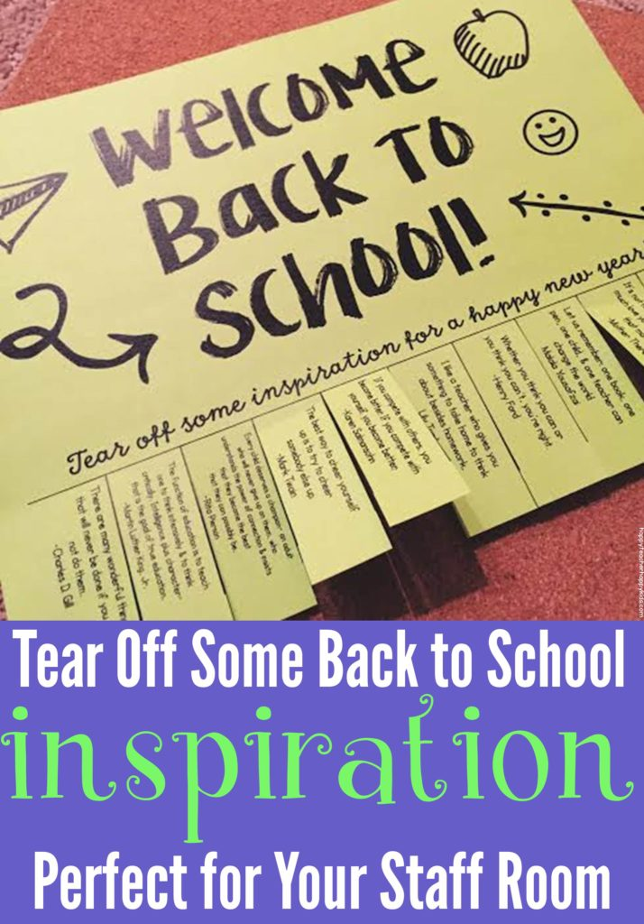 Back to School Tear Off Pinterest Image