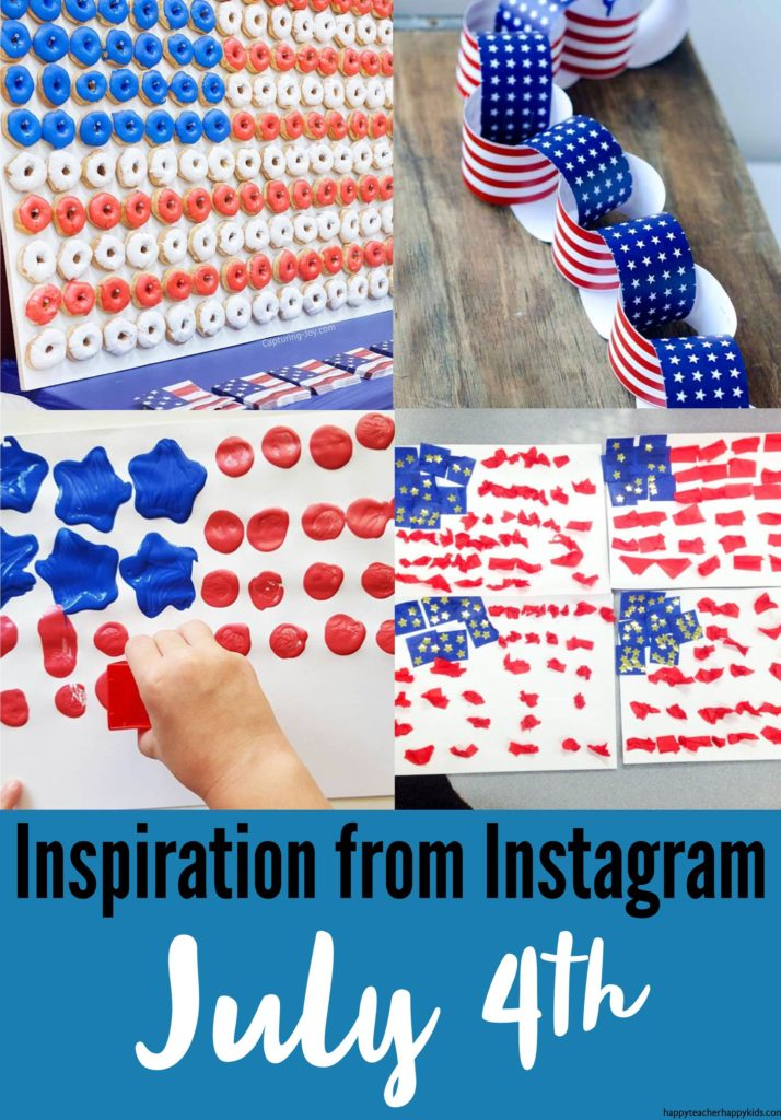 Instagram Flag Collage Pin